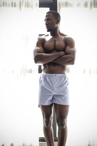 Ethically produced, socially responsible, premium boxer shorts, classic 100% cotton bespoke